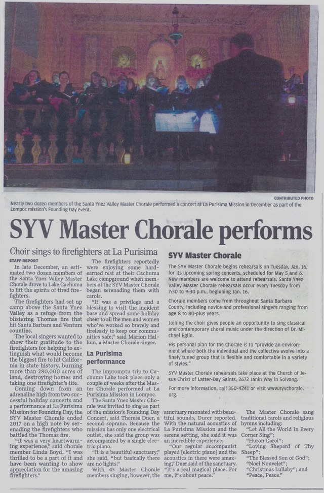 010418 Chorale Valley News