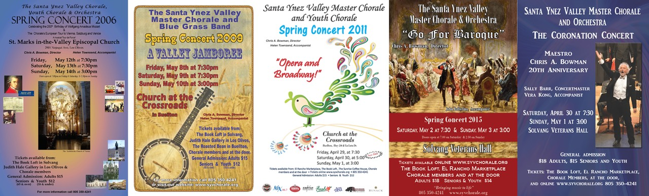 Chorale Spring Posters